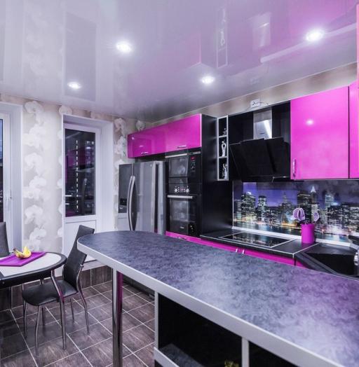 -Кухня МДФ в эмали «Модель 115»-фото13