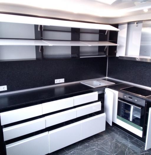 -Кухня МДФ в эмали «Модель 430»-фото22