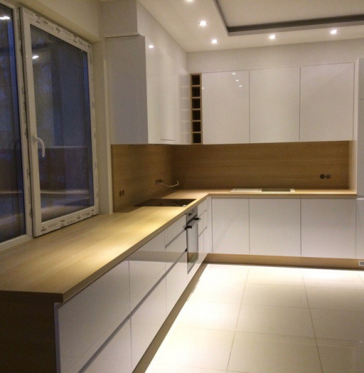 -Кухня МДФ в эмали «Модель 455»-фото21