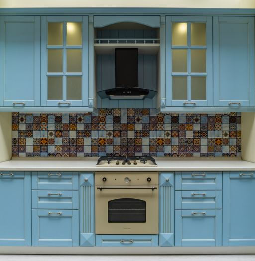 -Кухня МДФ в ПВХ «Модель 54»-фото14