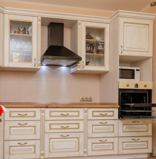 -Кухня из шпона «Модель 4»-фото1