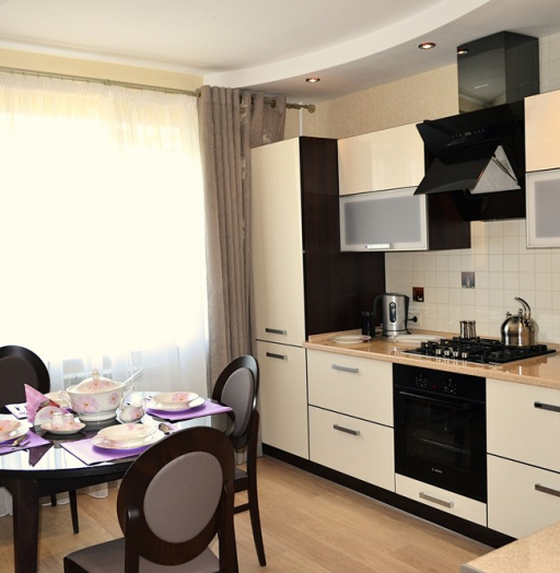 Акриловые кухни-Кухня из акрила «Модель 284»-фото4