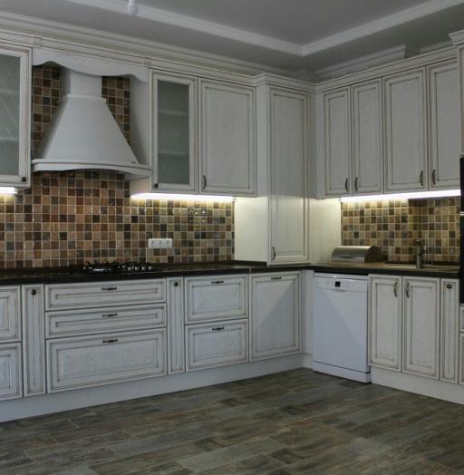 Акриловые кухни-Кухня из пластика «Модель 136»-фото4