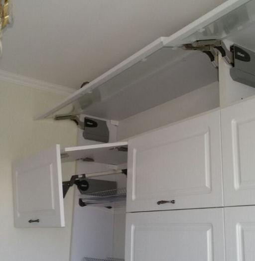 Акриловые кухни-Кухня МДФ в эмали «Модель 192»-фото4