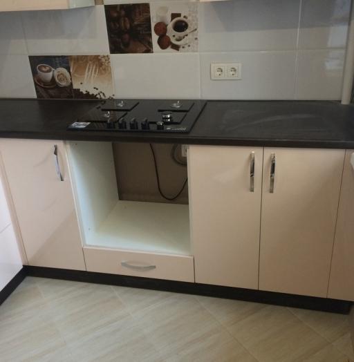 Белый кухонный гарнитур-Кухня МДФ в ПВХ «Модель 323»-фото11