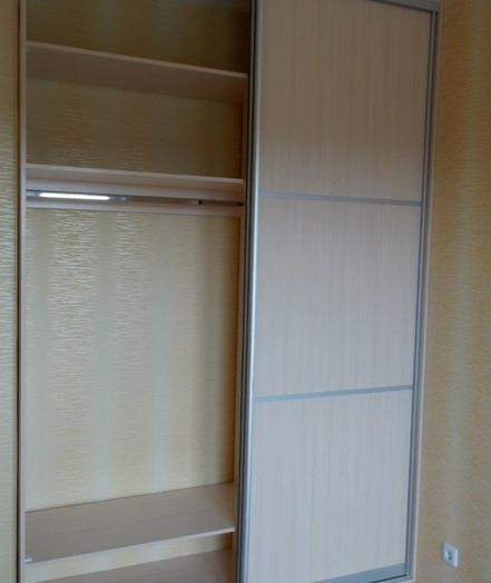 Встроенные шкафы-купе-Шкаф-купе из ЛДСП «Модель 78»-фото4