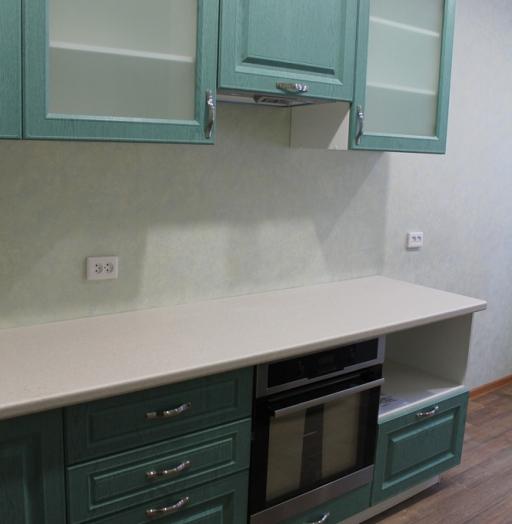 Классические кухни-Кухня МДФ в ПВХ «Модель 338»-фото6