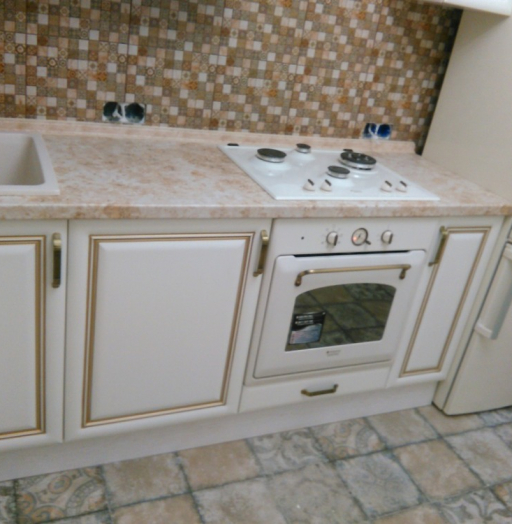 Белый кухонный гарнитур-Кухня МДФ в ПВХ «Модель 340»-фото16