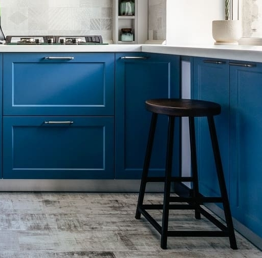 Встроенная кухня-Кухня МДФ в эмали «Модель 612»-фото7